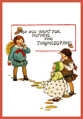 Funny old Thanksgiving card