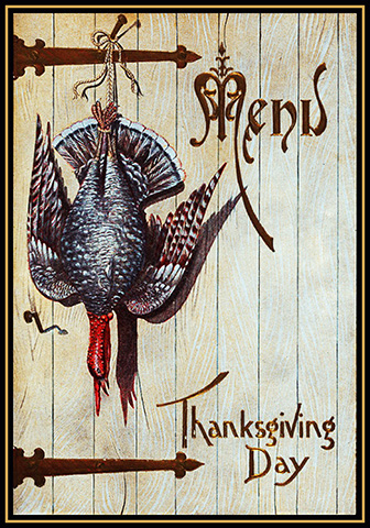Decorative Thanksgiving card