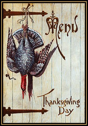 Decorative Thanksgiving card