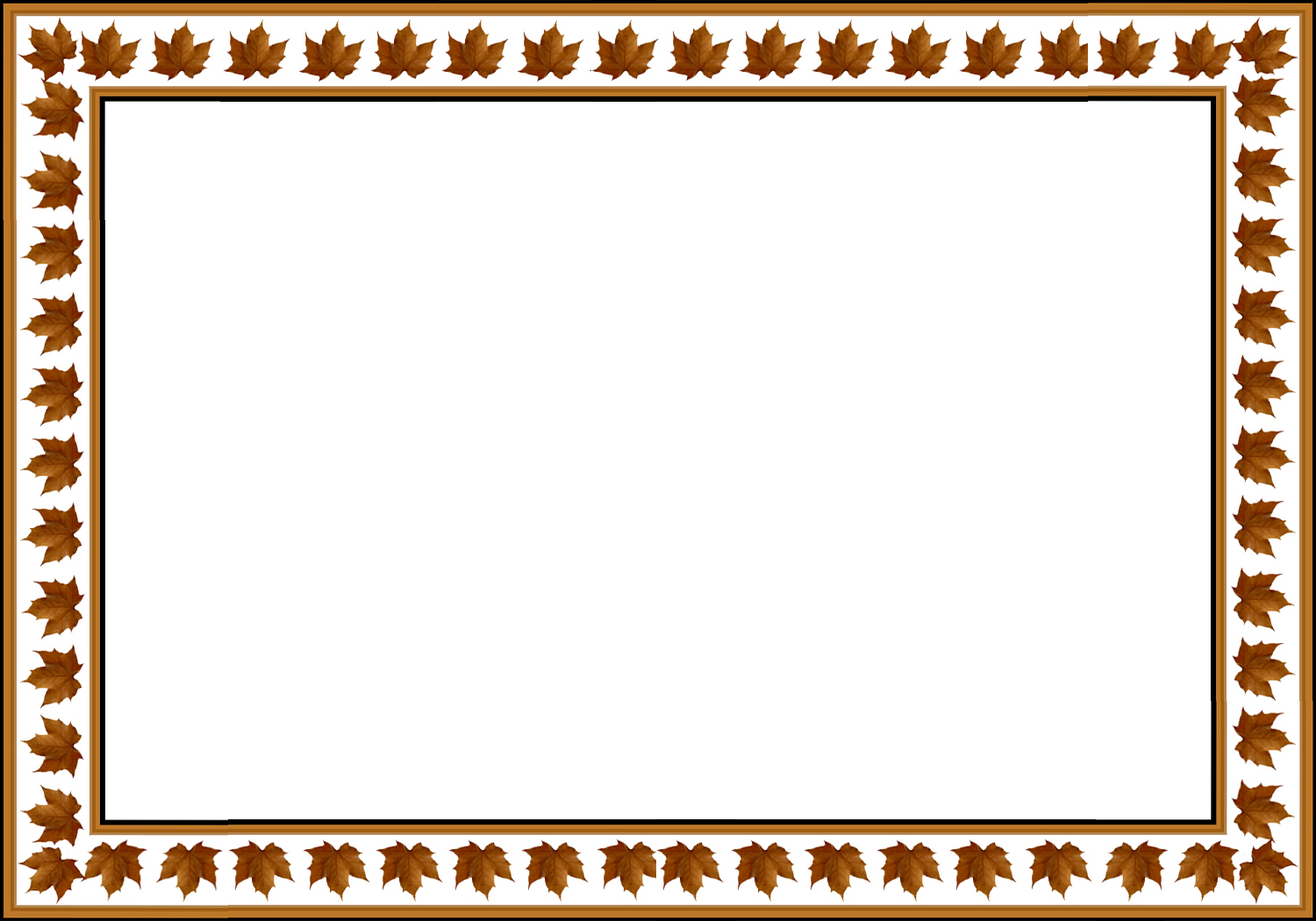 Leaf border template free printable flower border the gallery for gt simple border designs for greeting cards leaf border template m4hsunfo