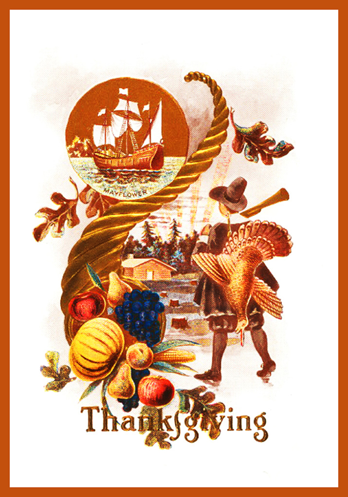Thanksgiving greeting cards free printable greeting cards vintage thanksgiving card m4hsunfo