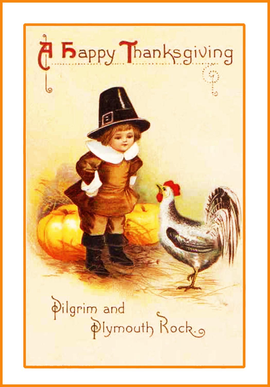 Thanksgiving Page Border
