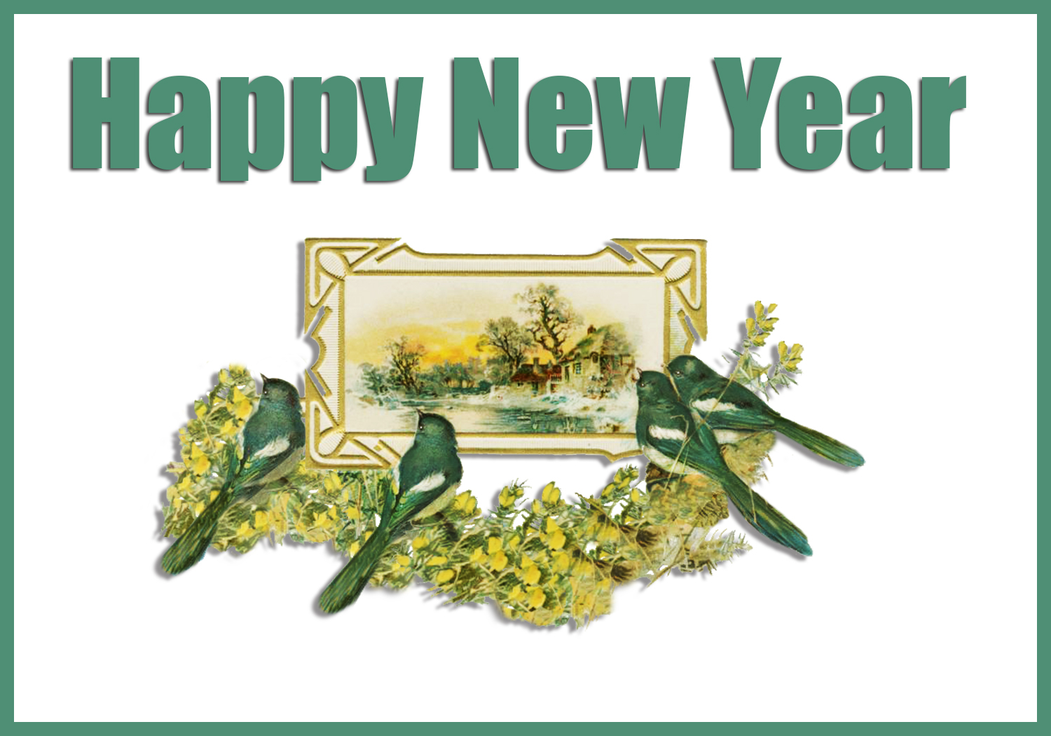 New Year Greeting Cards Free Printable Greeting Cards