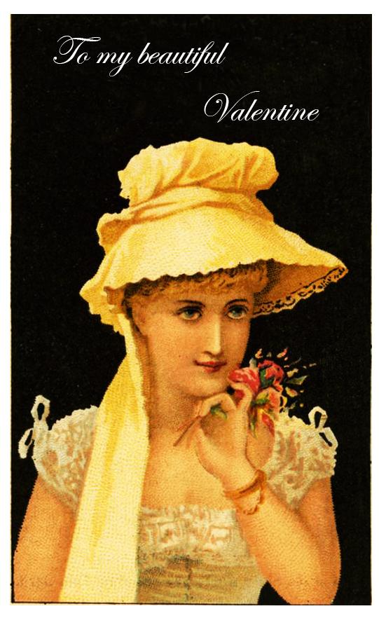 Valentine Day card to my beautiful Valentine