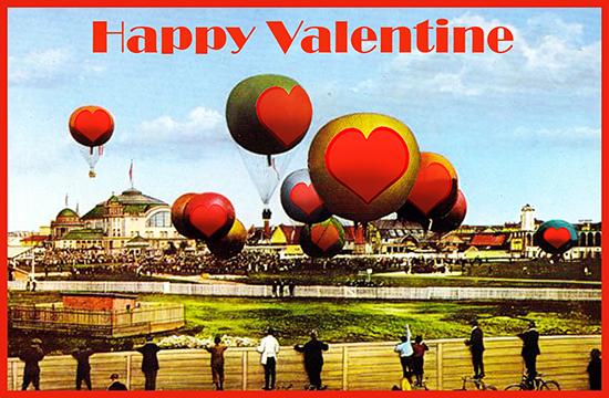 love heart weather balloons