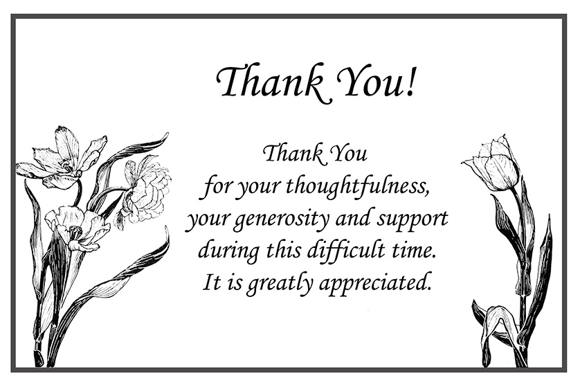 Printable Thank You Cards – Free Printable Greeting Cards