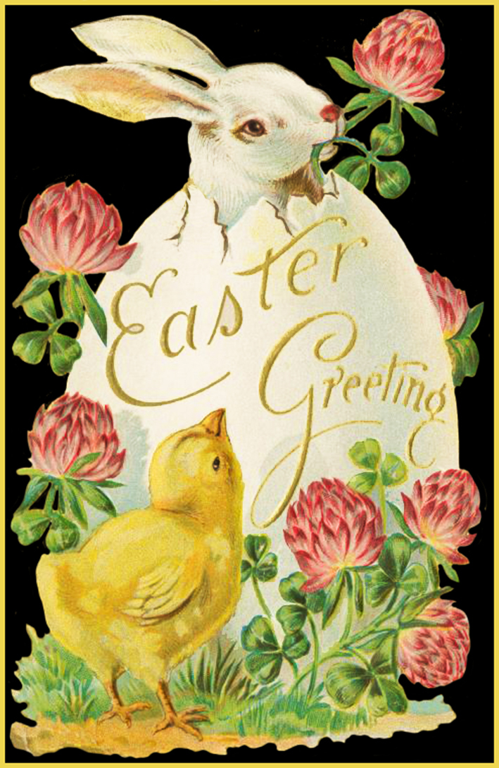 Exceptional image with free printable easter cards