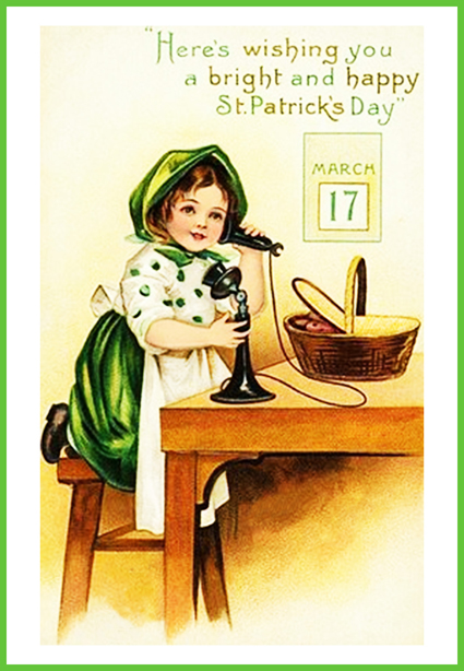 Irish telephone greeting