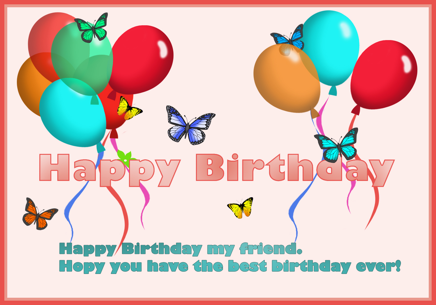 happy birthday card for you  u2013 free printable greeting cards