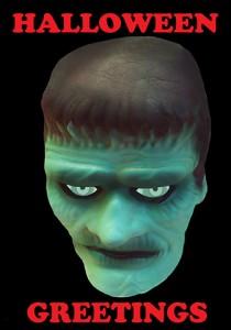 scary Halloween greeting