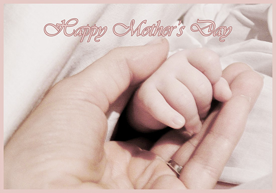 New mother greeting card