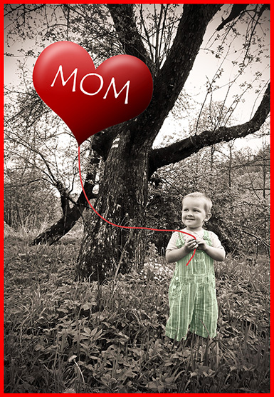 Funny cute Mother's day card