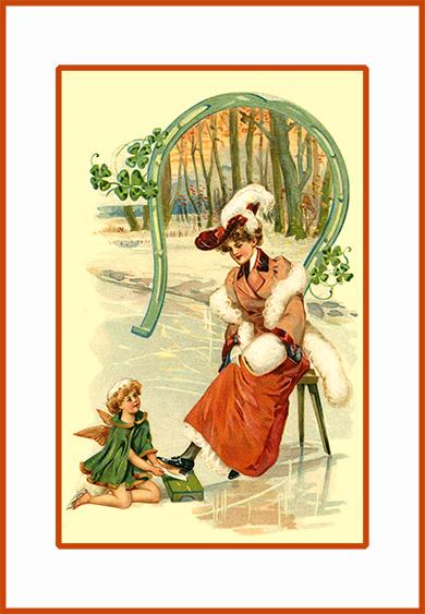 Winter New Year card