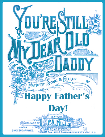 funny Happy Father's day card